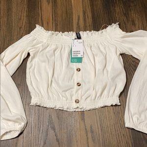 Flowy white blouse